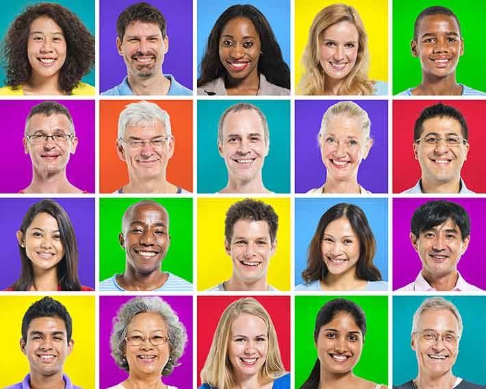 Multi-ethnic-age